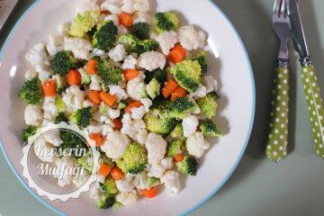 Renkli Kış Salatası