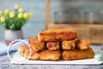 Biberli Patates Kroket Tarifi