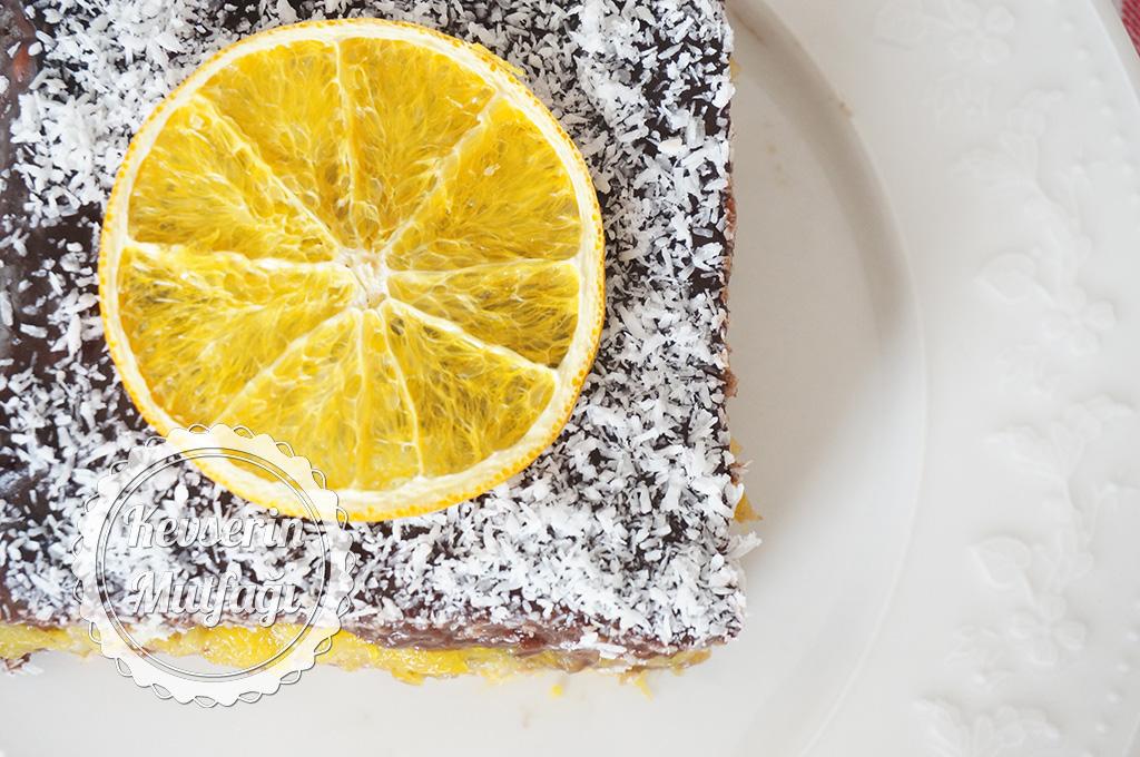 Portakallı Bisküvi Pastası Tarifi