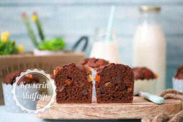 Meyve Parçacıklı Çikolatalı Muffin Tarifi