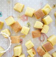 Portakallı Kek Lokumu