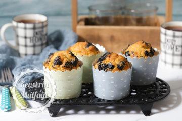 Zeytinli Muffin Tarifi