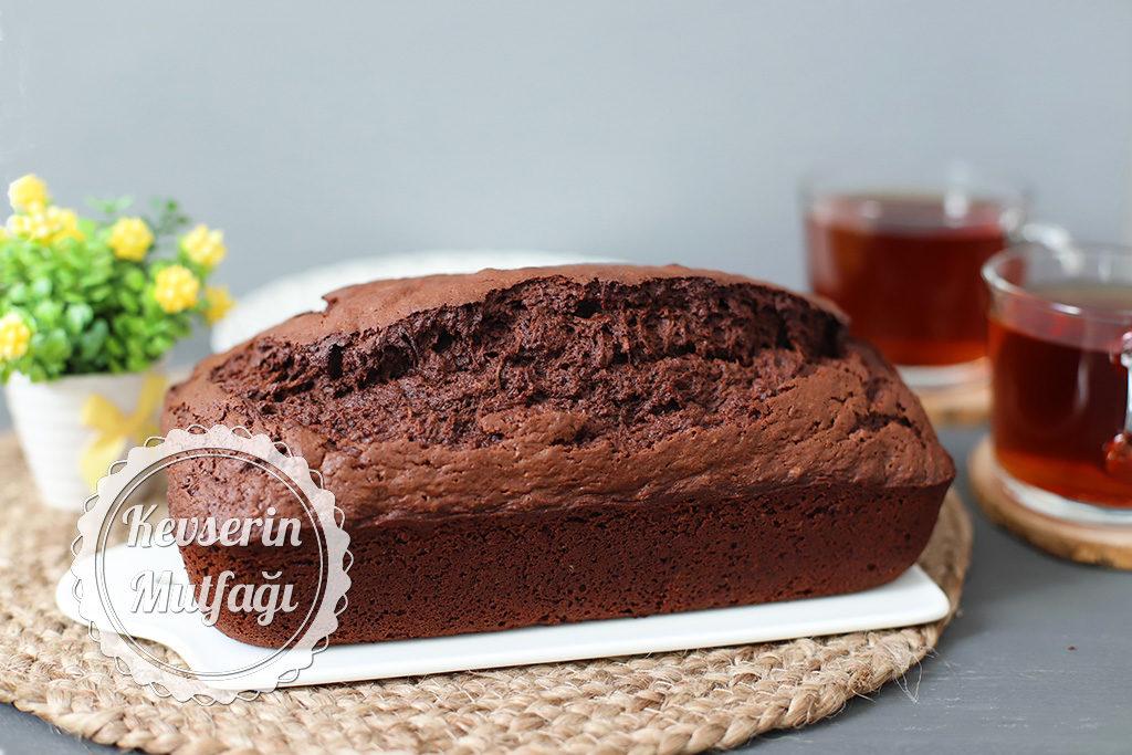 Yeşil Kabaklı Çikolatalı Kek