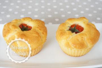 Domatesli Muffin Tarifi