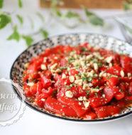 Kekikli Kırmızı Biber Salatası