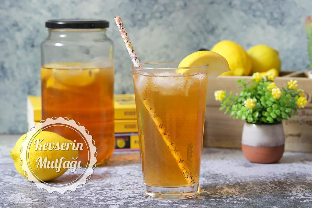 Limonlu Ice Tea Tarifi
