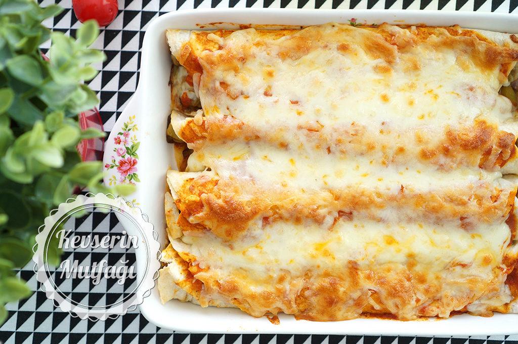 Sebzeli Enchilada