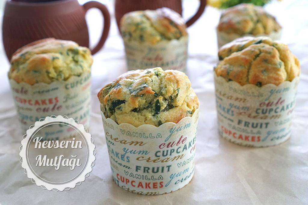 Ispanaklı Muffin Tarifi