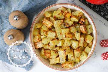Biberiyeli Fırın Patates Tarifi