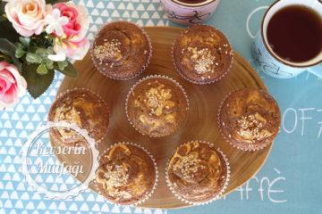 Tahinli Pekmezli Muffin Tarifi