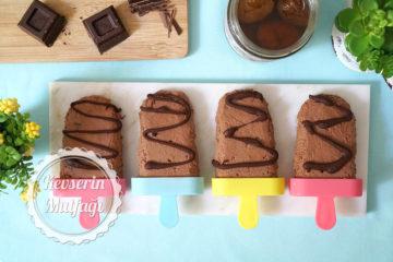 Kestane Parçacıklı Çikolatalı Dondurma Tarifi