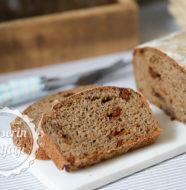 Kurutulmuş Domatesli Çavdar Ekmeği