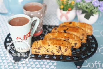 Fındıklı Damla Çikolatalı Biscotti