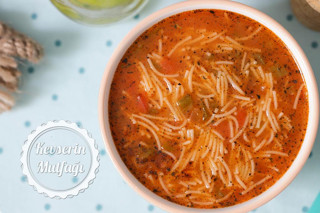 Şehriye Çorbası Tarifi   Kevserin Mutfağı - Yemek Tarifleri