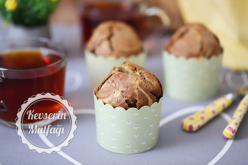 Mozaik Muffin Tarifi