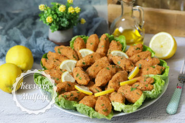 Patatesli Bulgur Köftesi