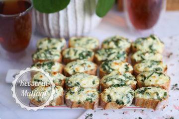 Peynirli Çıtır Ekmek Dilimleri Tarifi