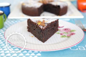 Fındıklı Çikolatalı Fondan (Unsuz Kek) Tarifi