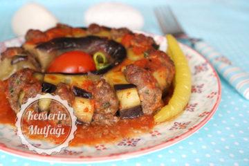 Beli Kırık Patlıcan Kebabı Tarifi