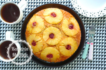 Ananaslı Çiçek Kek Tarifi
