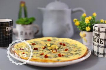 Taze Naneli Kremalı Omlet Tarifi