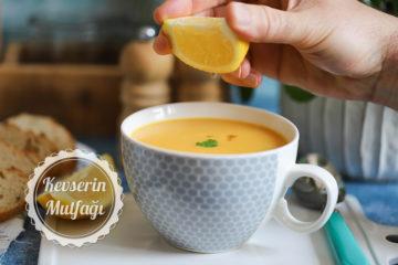 Patatesli Havuçlu Mercimek Çorbası Tarifi