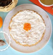 Kremalı Havuçlu Tarçınlı Pasta