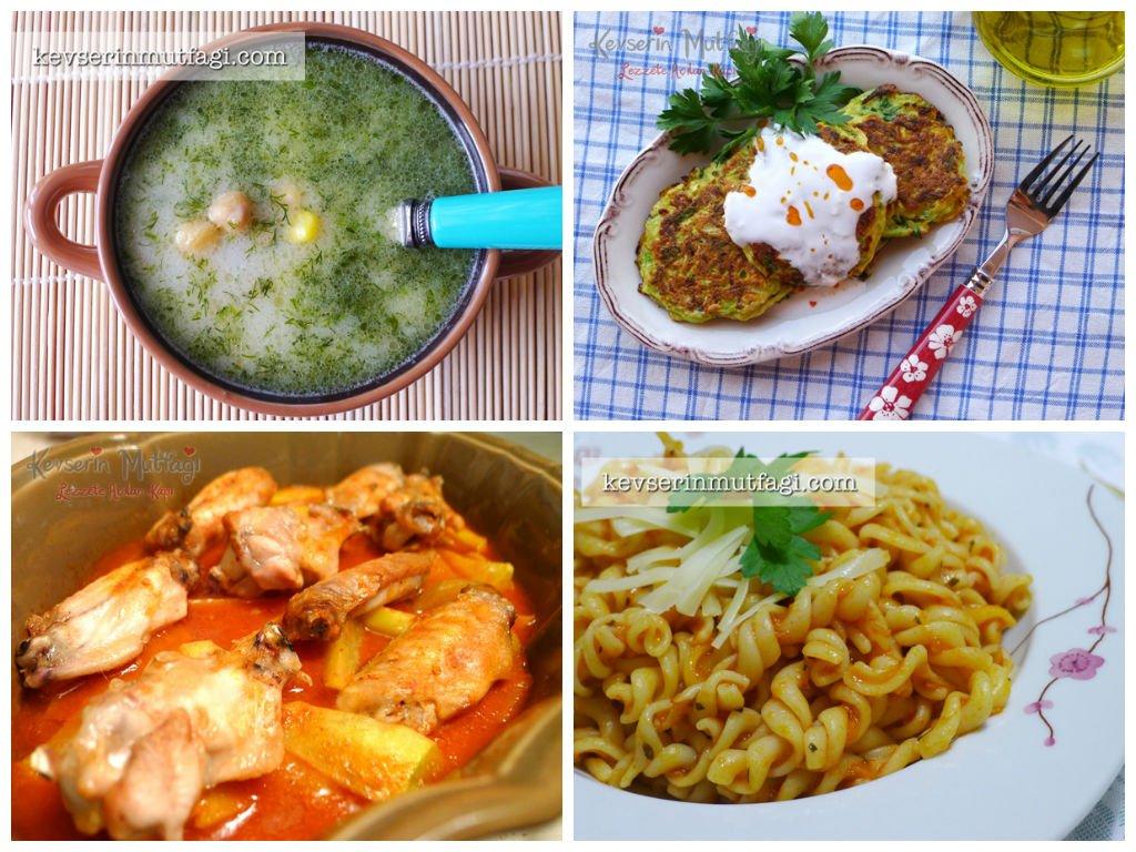 Yemek menüsü — Görsel Yemek Tarifleri Sitesi - Oktay Usta ...