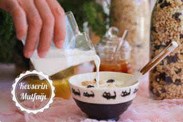 Kahvaltılık Granola Tarifi