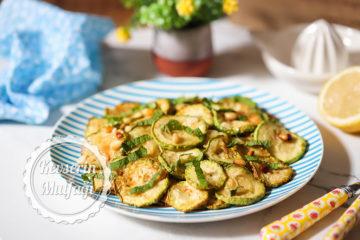 Kabak Kızartması Salatası Tarifi
