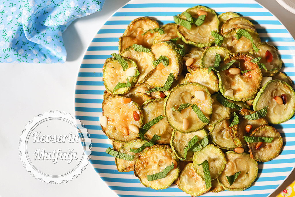 Kabak Kızartması Salatası