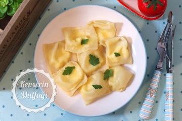 Peynirli Ravioli Tarifi