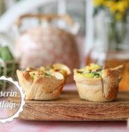 Tost Ekmeğinde Ispanaklı Omlet Tarifi