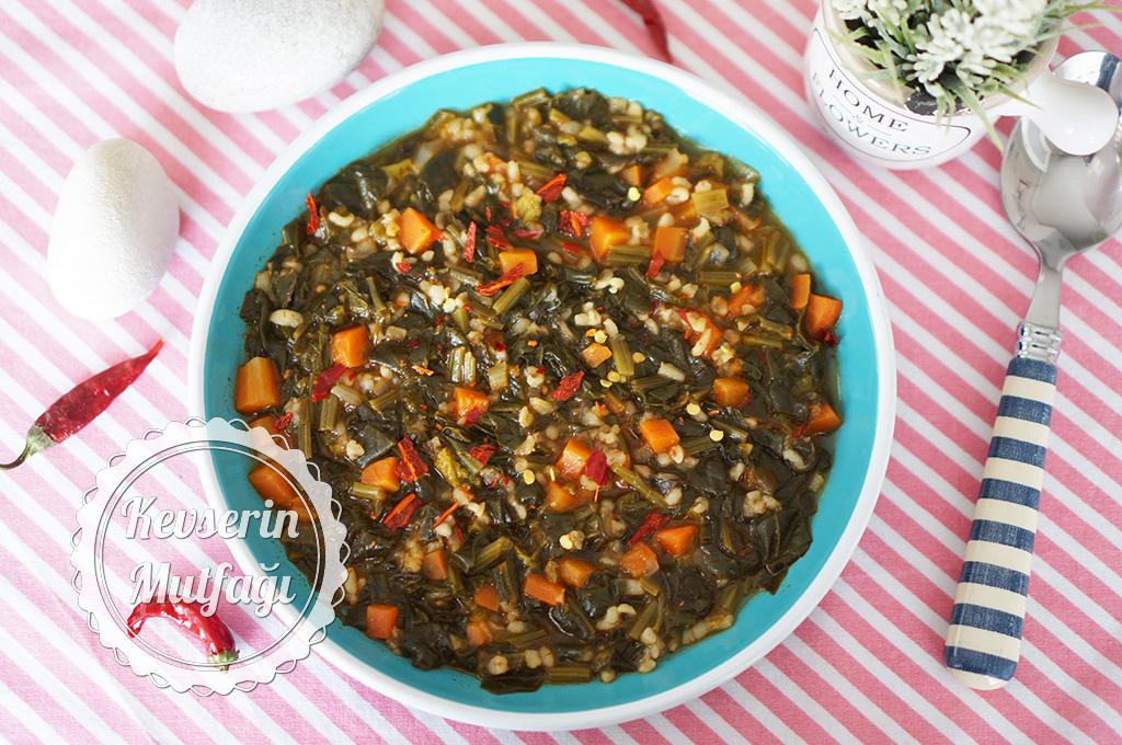 Bulgurlu Ispanak Yemeği Tarifi