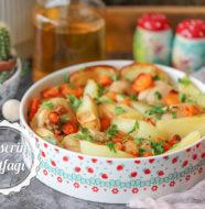 Patatesli Tavuk İncik Tarifi