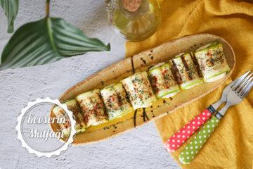 Peynirli Kabak Sarma Tarifi