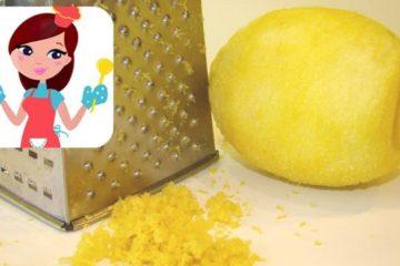 Limon Kabuğu Rendeledikten Sonra Rende Nasıl Temizlenir?