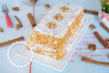 Bal Kabaklı Mozaik Pasta Tarifi
