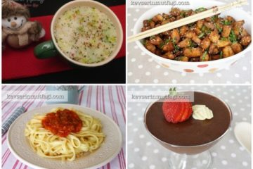 yemek menüsü
