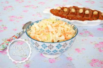 Coleslaw Salata (Videolu Tarif)