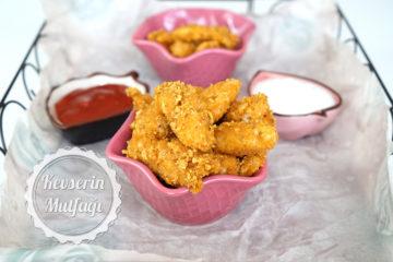 Cornflakesli Çıtır Tavuk (Videolu Tarif)
