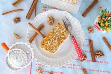 Bal Kabaklı Mozaik Pasta (Videolu Tarif)