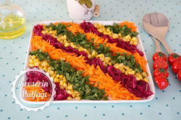 Mor Lahana Turşusu ve Salatası (Videolu Tarif)