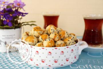 Çörek Otlu Mini Kurabiye (Videolu Tarif)