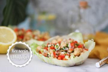 Soğanlı Nohut Salatası Tarifi