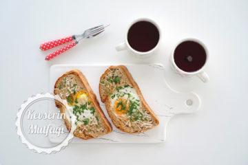 Yumurtalı Çıtır Ekmek Dilimleri (Videolu Tarif)
