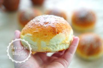 Hamburger Ekmeği (Videolu Tarif)