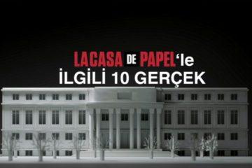 La Casa de Papel'in Çekildiği Yere Gittim
