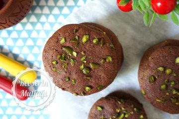 Çikolatalı Brownie Kurabiye (Videolu Tarif)
