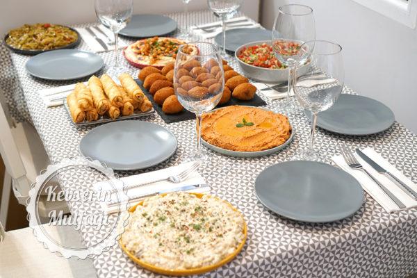 Mezeli Yemek Menüsü
